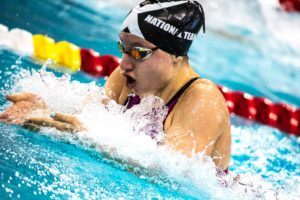 Zoe Skirboll Jumps into All-time Top-10 for 13-14 50 Free with 25.94