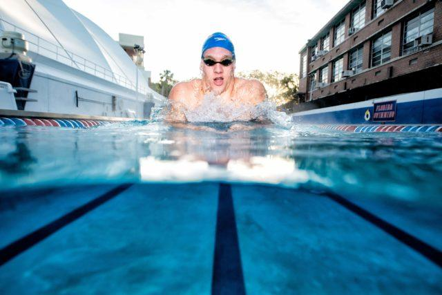 Caeleb Dressel underwater photography Mike Lewis