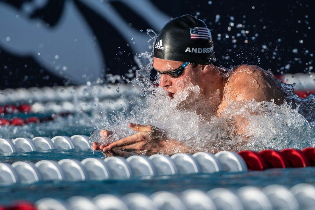Michael Andrew Reveals Nationals Events, Move To CA on Instagram