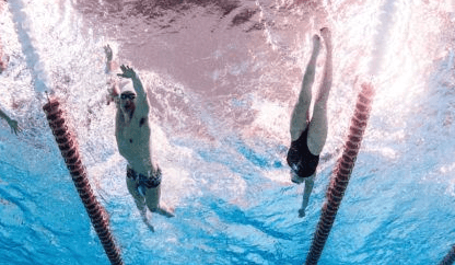 Was There A Current In the Pool At the Bloomington Pro Swim Series?