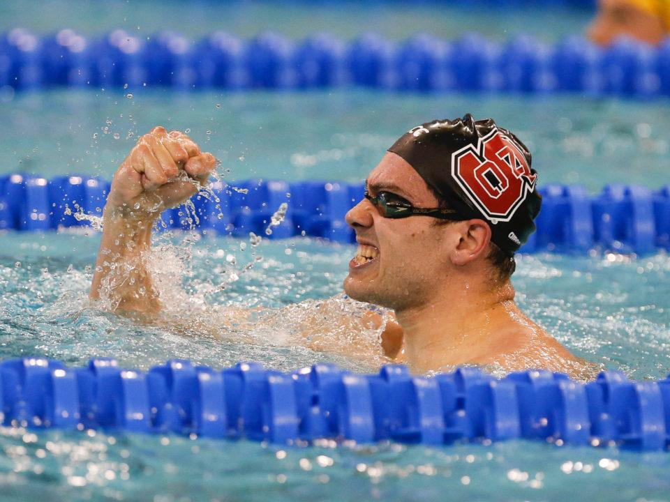 Preliminary ACC Men's Swimming & Diving Championship Psych Sheets Out