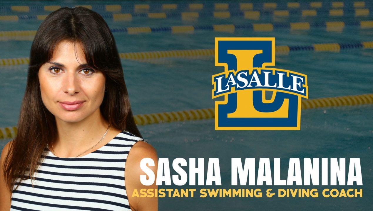 LaSalle Names Sasha Malanina As Assistant Coach