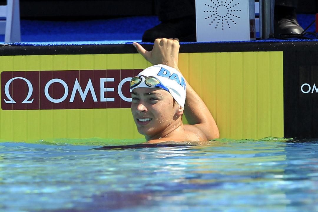 Luca Urlando, Swimming Beyond His Years