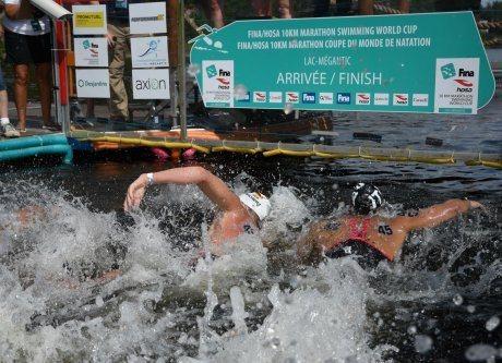 Xin Xin, Christian Reichert Dominate Lac Megantic 10K Race