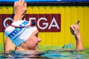 U.S. National Teamer Claire Curzan Lowers 50 Free Time