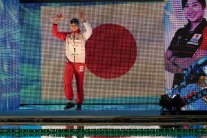 Rikako Ikee nada los 200 libre por 2da vez desde su vuelta a la competición