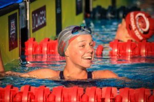 Justina Kozan Closes 200 IM in 29.15, Now A Top 10 Swimmer Among 15-16 Girls