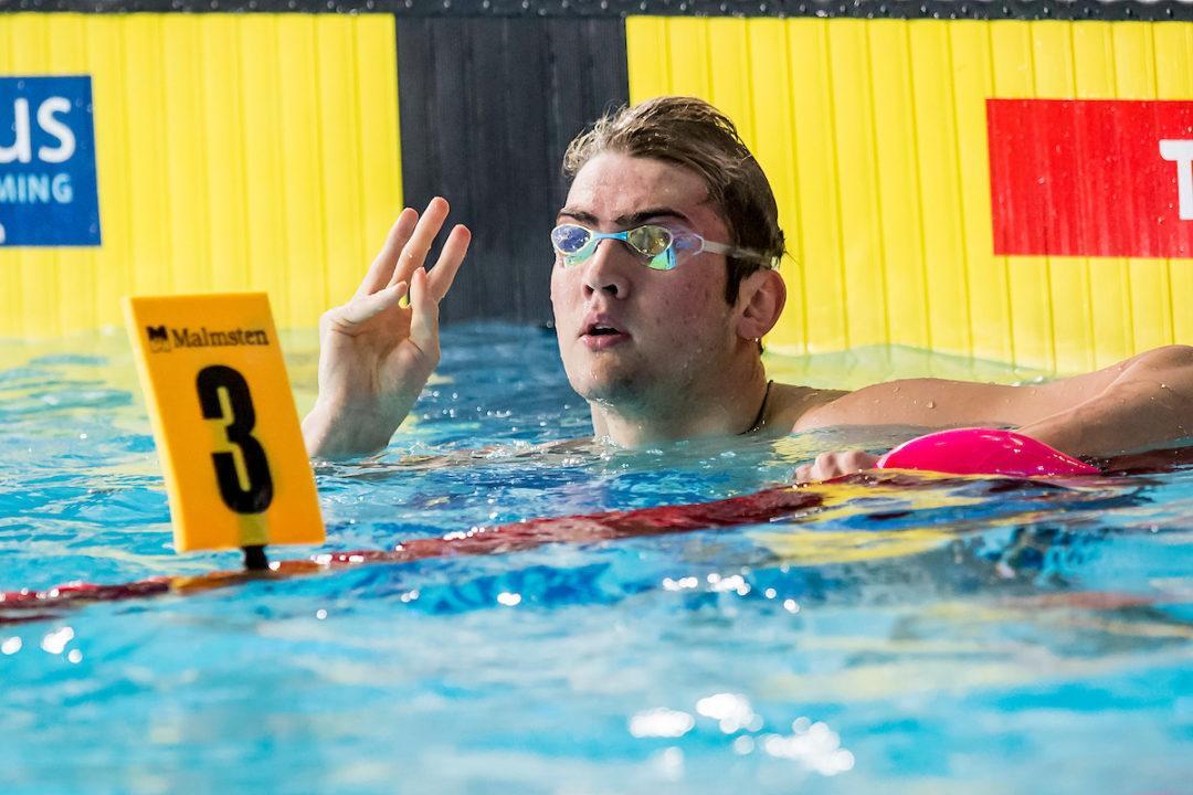 Kolesnikov, C. Campbell Headline Second Wave of FINA Champions Series Commits