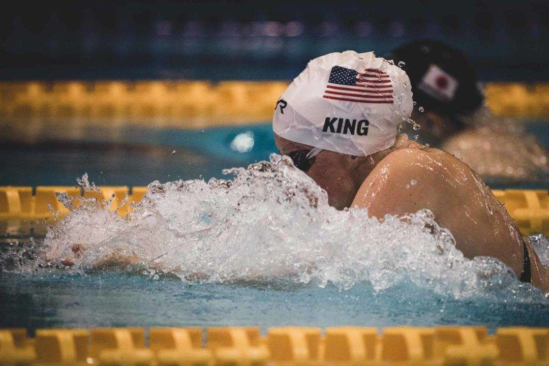 Final Rosters: King Into Worlds in 200 Breast, Bumps Galat To Pan Ams