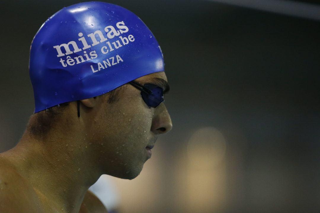 Vini Lanza Breaks Thiago Pereira's South American Record in 200 IM
