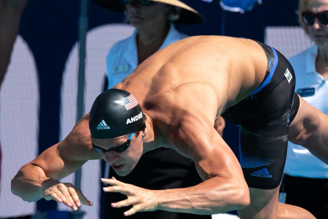 2018 FINA World Cup Day 2 Prelims: Michael Andrew On The Move