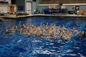 Texas Men's Swimming & Diving Hangs 14th NCAA Championship Banner