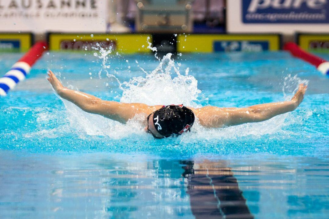 Alabama Commit Emilio Perez Downs 2003 100 Fly Wisconsin HS State Record