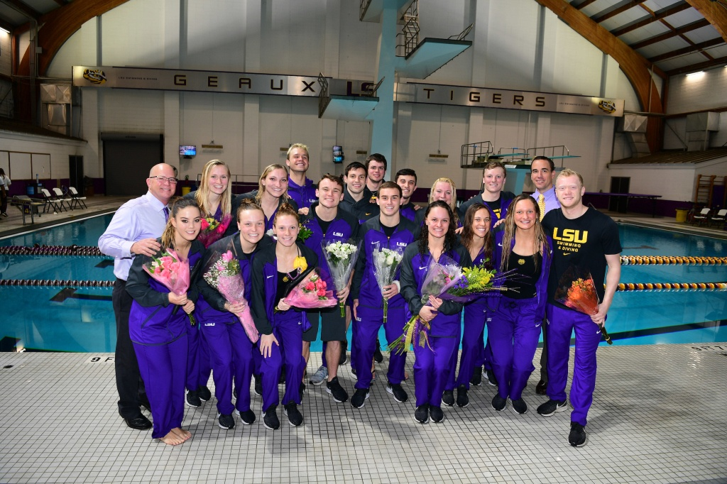 Mitchell Petras Sets Two Personal Bests as LSU Rolls on Senior Day