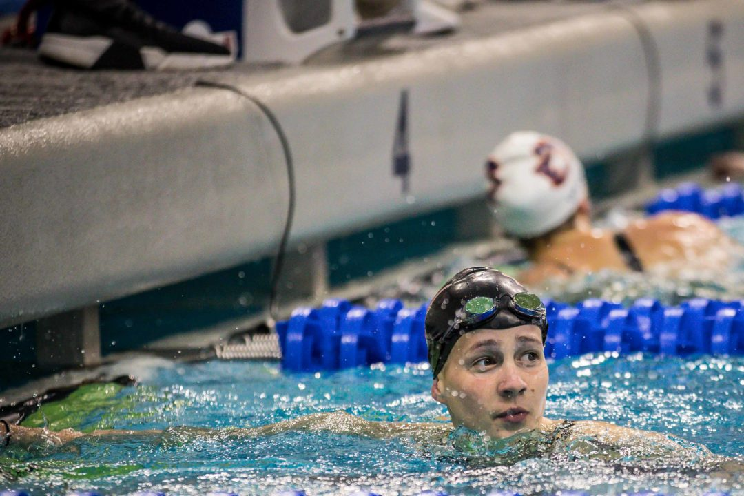 Joanna Evans Lowers Own BAH 200 Free National Record