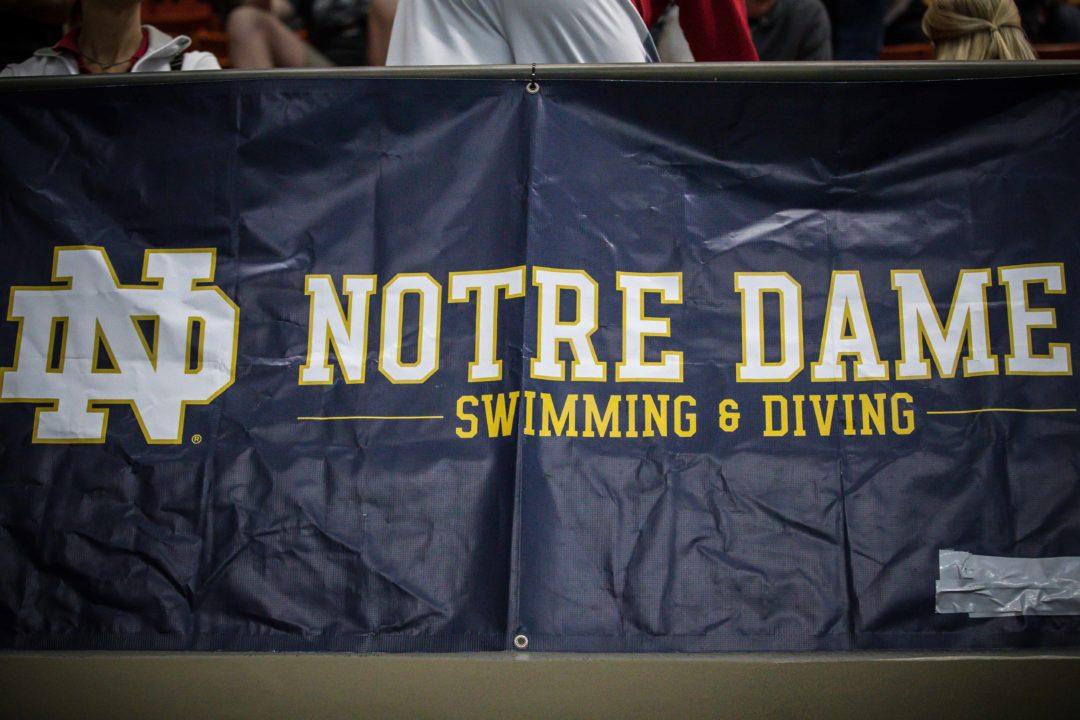 Mike Litzinger Resigns As Notre Dame Head Coach, Team Cancels Weekend Dual Meet