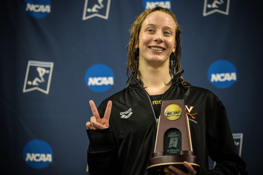 Paige Madden Reflects on Individual, Relay, and Team Titles in Last NCAA Meet