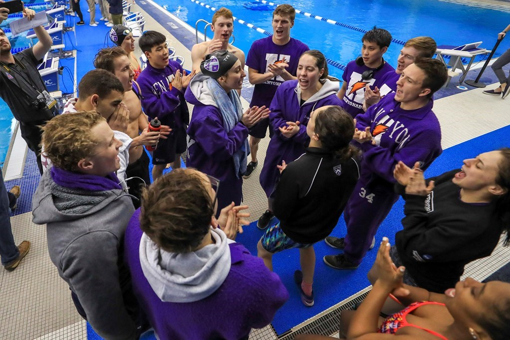 """Kenyon's Jess Book: """"We Ended Our Season As We Had Always Planned – Together"""""""