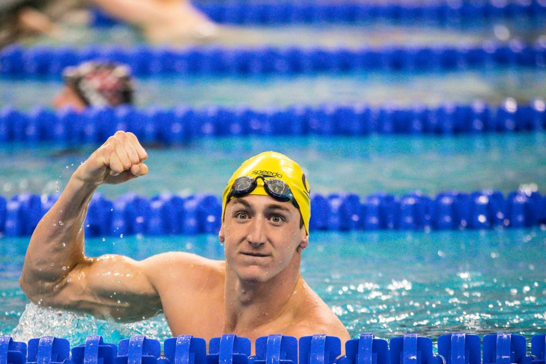 Ryan Hoffer Moves To #2 All-Time With 18.43 In NCAA 50 Free Prelims
