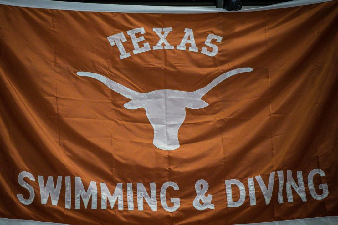 American SC Champs: Texas' Larson Posts 4:14 500 Free to Qualify for NCAAs