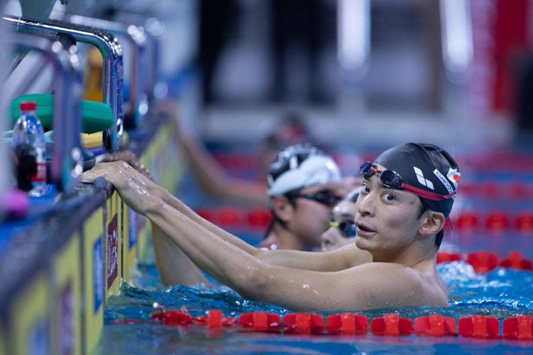 Seto & Irie Happy With FINA Champions Series Races, But Looking For More