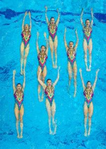 Maltsev Wins Three Golds At Virtual Artistic Swimming World Series Event