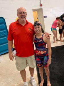 Levenia Sim Breaks Regan Smith's National Age Group Record in 50 Back