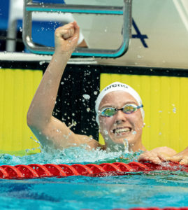 Isabel Gose Breaks German Record in 400 Free After 2 Second Time Drop