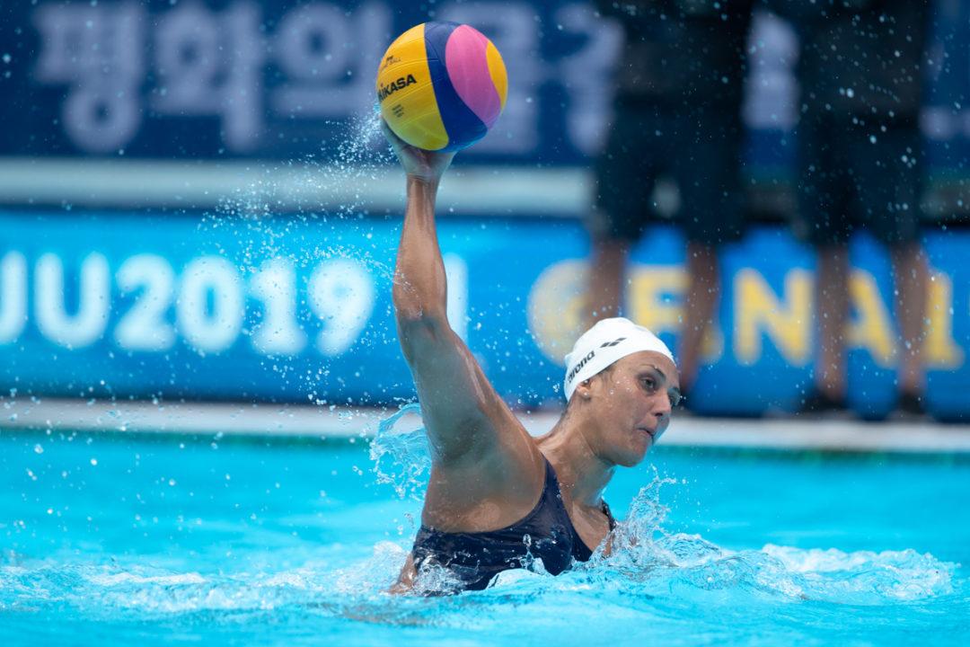 Last Two Women's Water Polo Olympic Spots On The Line In Trieste