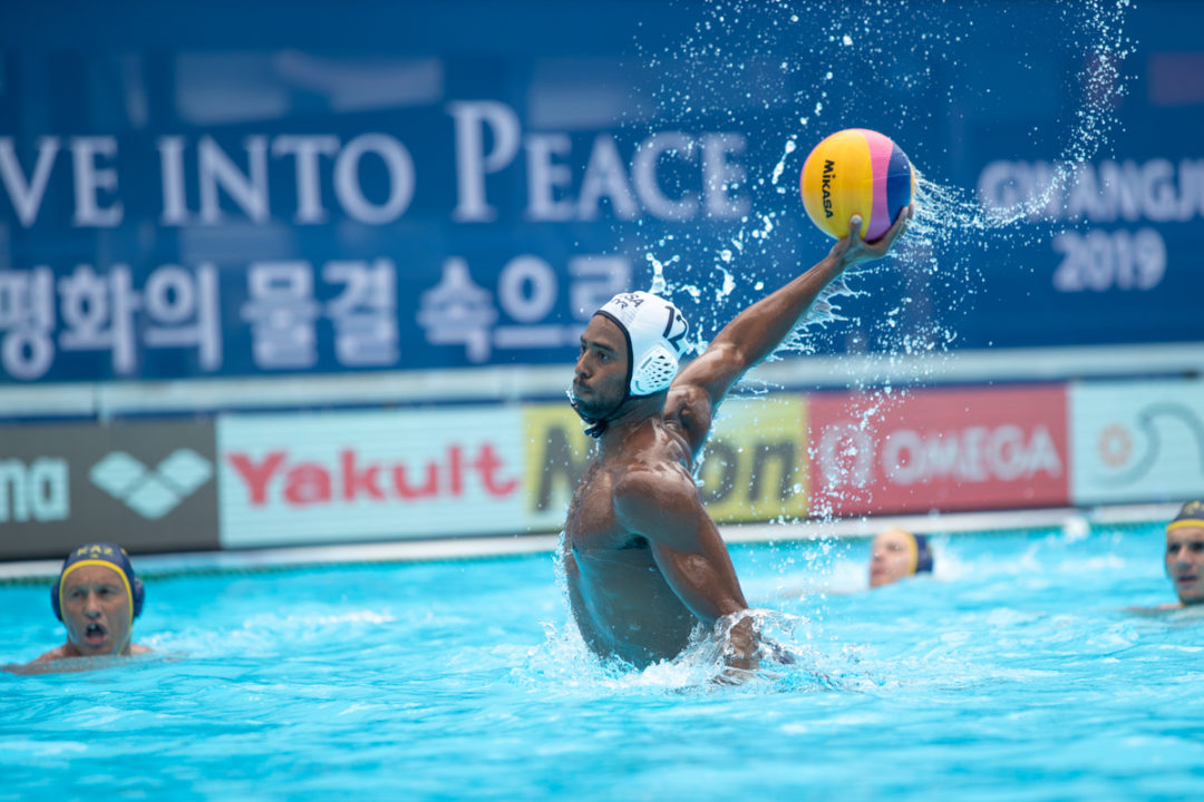 USA vs. Kazakhstan Water Polo Match Photo Vault