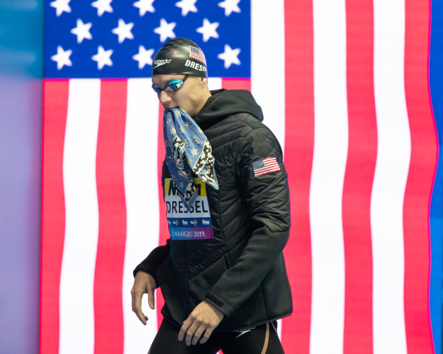 Caeleb Dressel Wins Male Athlete of the Year At 2019 Golden Goggles