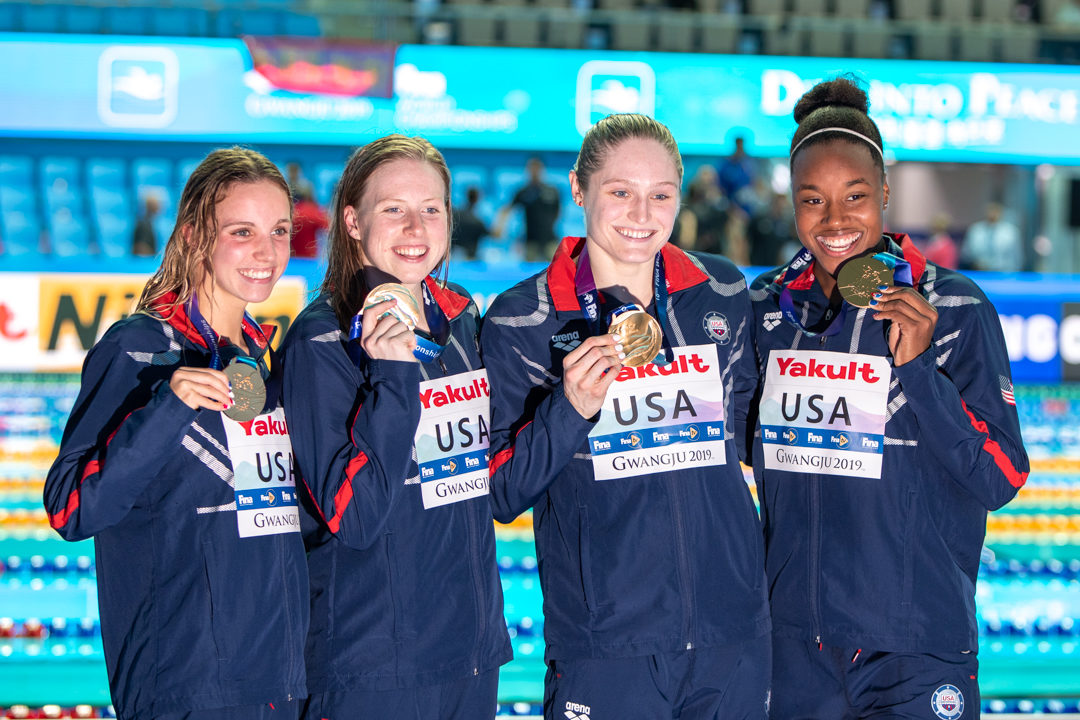 Tokyo Olympic Relay Qualification Update — Women's 400 Medley Relay