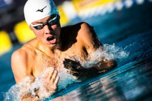 WATCH: Carson Foster Crushes 400 IM PB of 4:11.56 During Longhorn Prelims