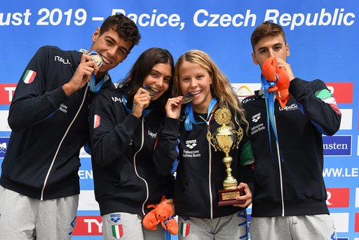 Hungary Leads the Way at European Junior Open Water Championships