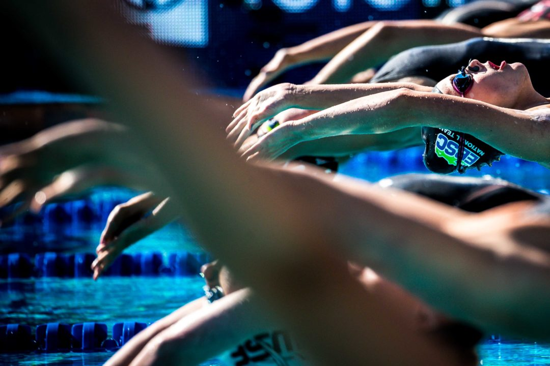 Freshman Maggie Wanezek Swims 1:56 in 200 Back as State Meet Follow-Up