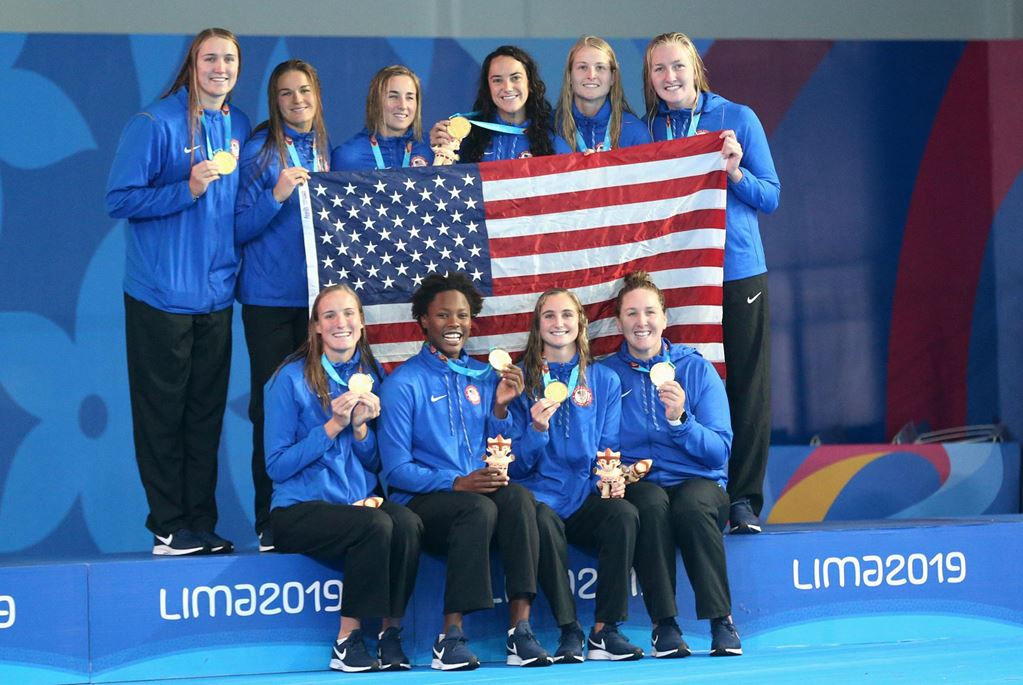 USA Women's Water Polo Claims Gold in Lima, Winning 5th-Straight Pan Am Title