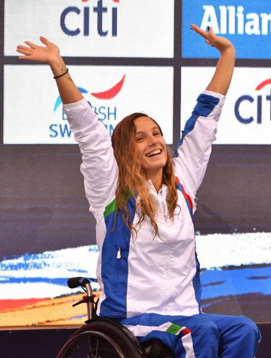 Mondiali Nuoto Paralimpico: Talamona Doppio Oro, Italia In Vetta Al Medagliere