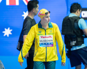 Race Videos: Watch McKeown, Temple, And Titmus Down 3 More Aussie Records