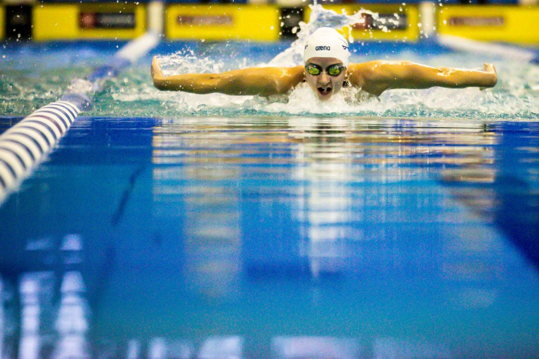 Douglass Swims 1:50.9, #3 200 IM Ever, at Tennessee Invite Day 1 Finals