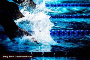 Daily Swim Coach Workout #548