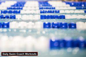 Daily Swim Coach Workout #586