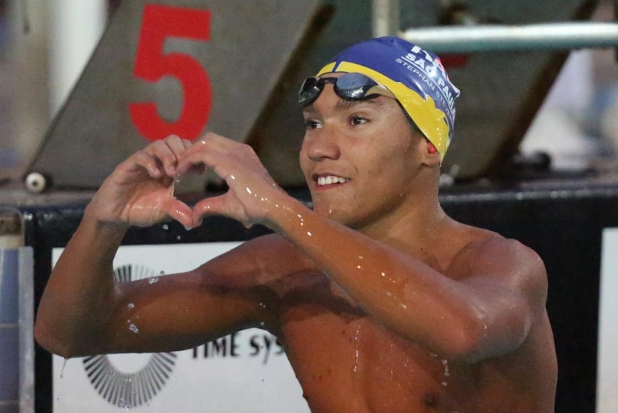 16-Year Old Steverink Swims 4:19 in 400 IM at 2020 Brazil Trophy