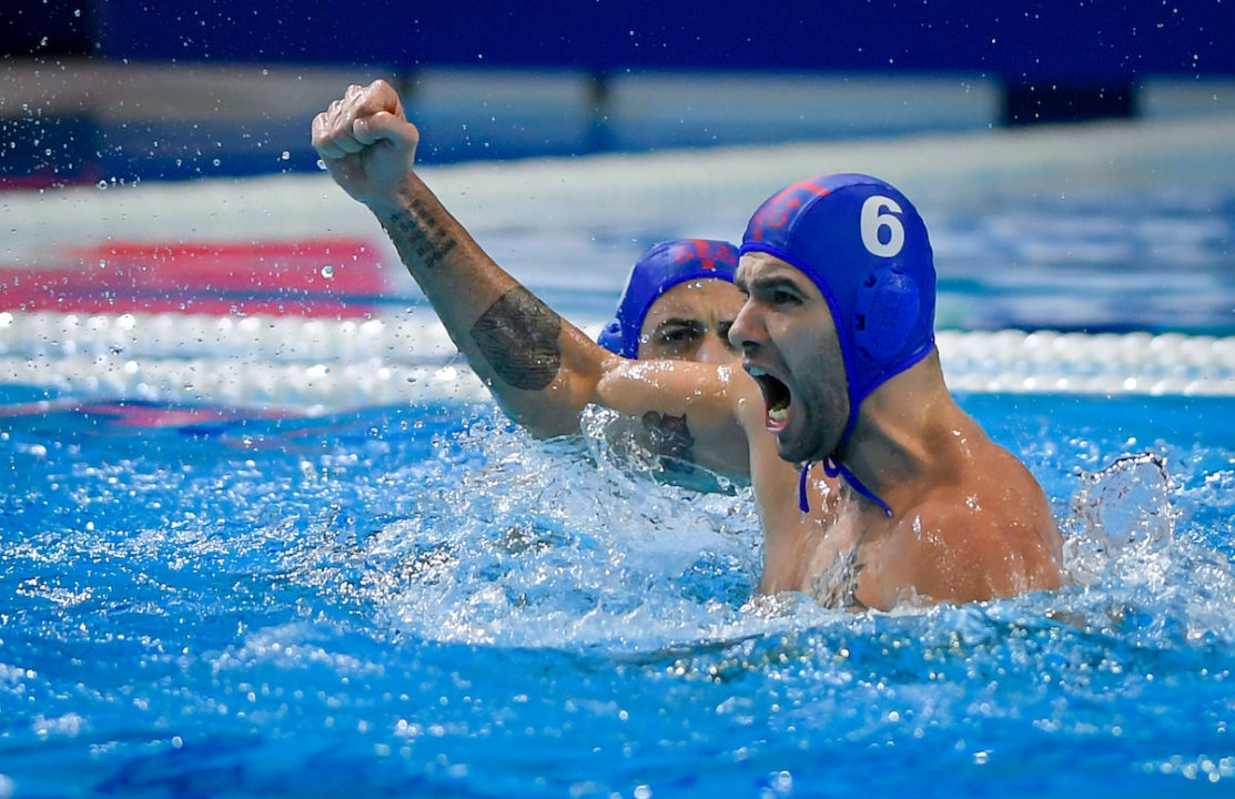 Three Olympic Men's Water Polo Berths On The Line In Rotterdam