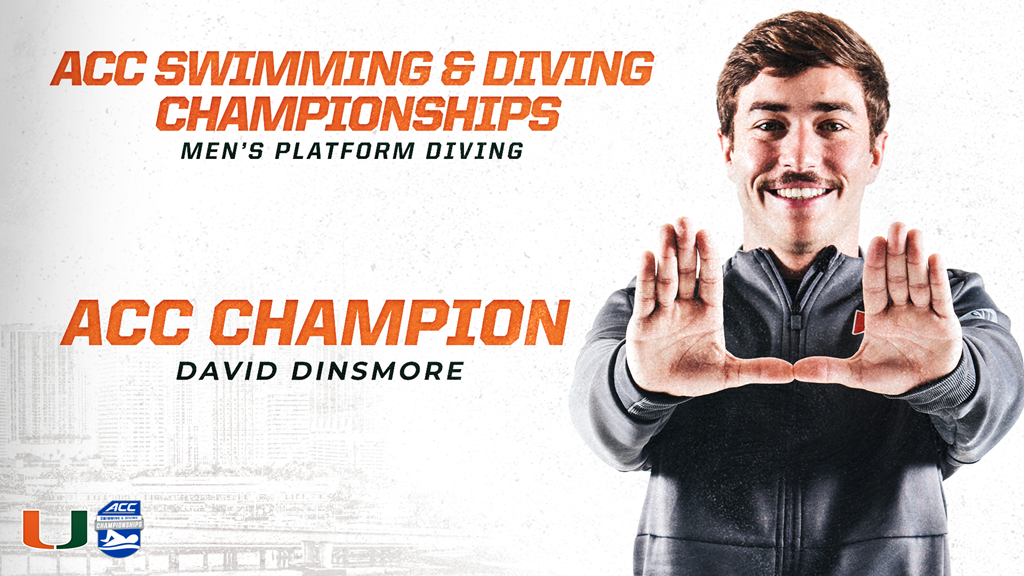 Miami, Florida State Lead Men's ACC Championships after Diving