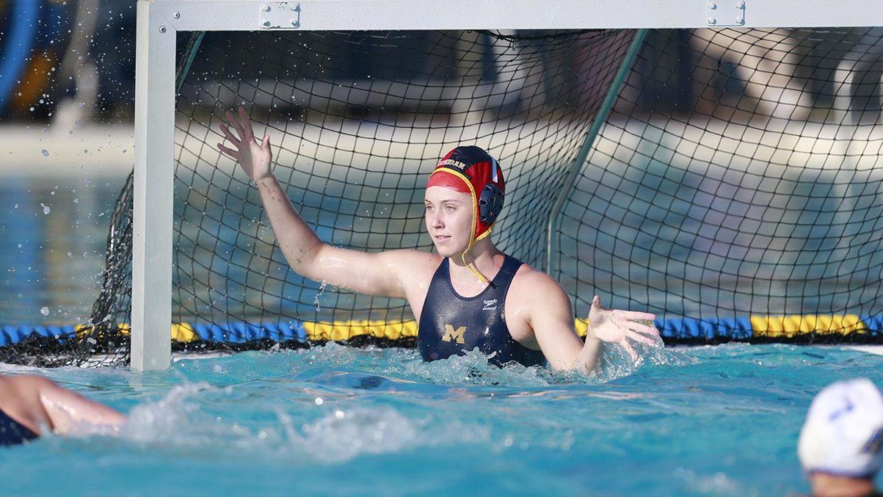 Ritner, Fehr Lead Week 6 Women's Water Polo Conference Award Winners