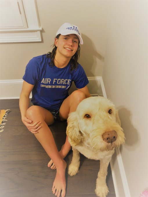 Georgia State Champion Alex Clark Has Committed to Swim for Air Force in 2021