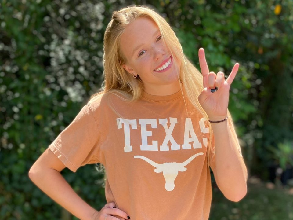 Texas Picks Up Verbal Commitment from 1:02/2:16 Breaststroker Channing Hanley
