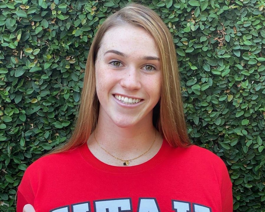 Winter Juniors-Qualifying Backstroker Norah Hay Verbally Commits to Utah