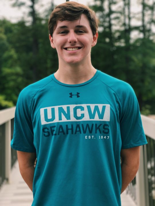 UNC-Wilmington Commit Aidan Duffy Pops New Best of 1:57.6 in 200 BR at NCSAs