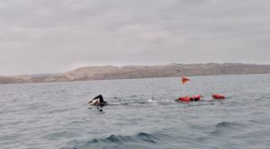 Deichmann Completes 450km Swim to set WR for Longest Unassisted Swim